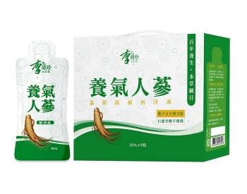 康健天地-李時珍養氣人蔘精華飲X2盒[補氣固根,活力滿滿]
