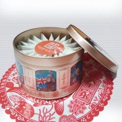 夏威夷手工鮮奶糖禮盒20入/175公克正負5公克(超大顆)-冷藏出貨 鐵盒