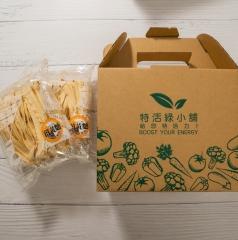 特活綠小舖-薑黃麵(醬料包)-4入