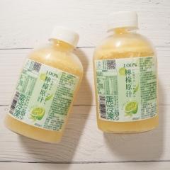 特活綠小舖-檸檬汁原汁-450ml-分