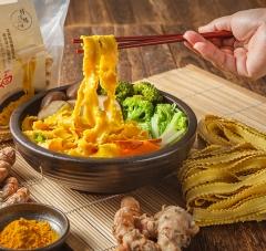 特活綠小舖-薑黃麵(醬料包)-12入-箱