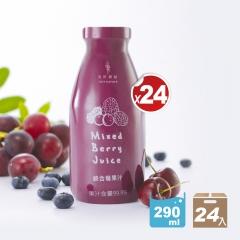 [免運]綜合莓果汁(290ml/瓶)-24入