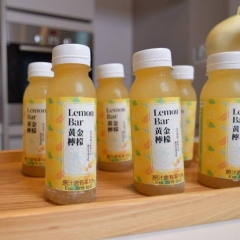 【紐登斯】Lemon Bar 黃金檸檬飲 (24入/箱)