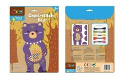 動動手十字繡系列-熊熊
