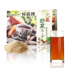 青玉牛蒡茶 元氣野菜蔬菜精力湯(10g*36包入/盒) 五行蔬菜湯