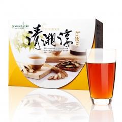青玉牛蒡茶 清湘淳白鶴靈芝草牛蒡茶包(6g*50包/盒)