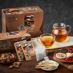 青玉牛蒡茶 津活源西洋蔘牛蒡茶包(6g*16包/盒)