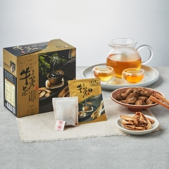 青玉牛蒡茶 原味牛蒡茶包(6g*16包/盒) 春節禮盒 牛年伴手禮