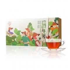文創風新品上市 青玉牛蒡茶 原味牛蒡茶包(3g*30包/盒)
