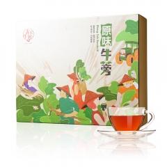 文創風新品上市 青玉牛蒡茶 原味牛蒡茶包(3g*60包/盒)