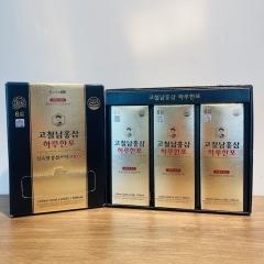高鐵男紅蔘黃金飲 大+小禮盒組( 100入+30入)