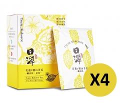 【康健天地】日濢-山苦瓜全果烘焙纖活飲(10包/盒)X4盒組