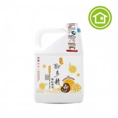 酚多精除臭抗菌液 4900g補充桶裝(橘油) 地板清潔、木地板清潔適用-榮獲SNQ國家品質防疫類標章